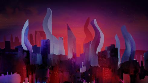Estudo de cenário do longa metragem Sonho de Clarice. Arte: Gabriel Dutra