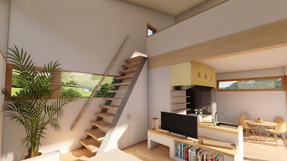 neKKo home - modelo niNNo interior