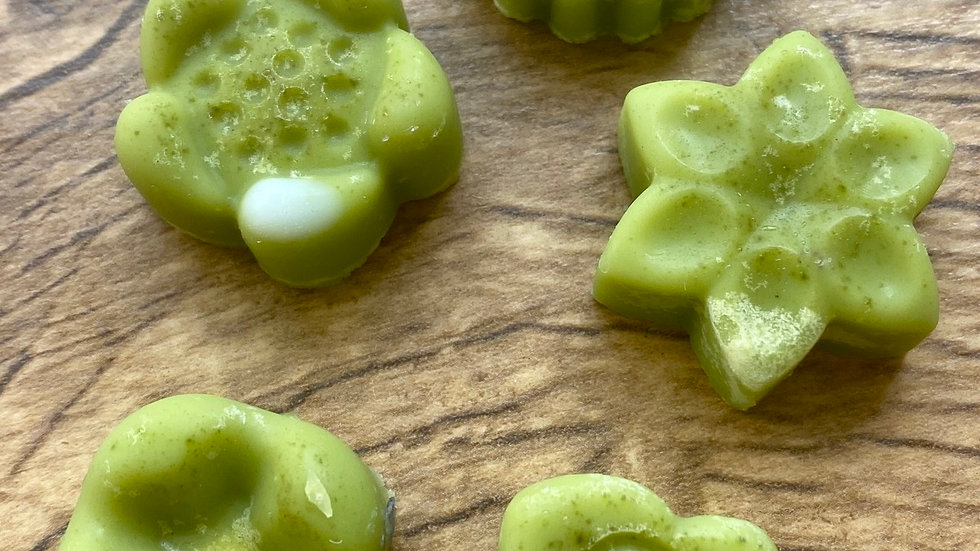 SAMPLE: Matcha, Lemon and Mint Lotion Bar