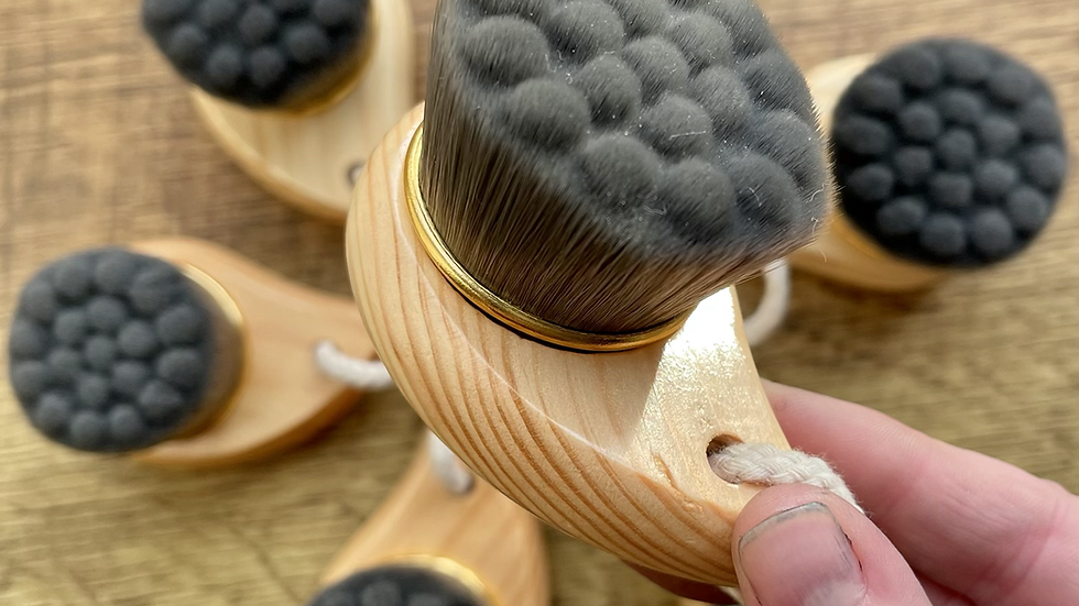 Facial wash brush