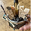 Thumbnail: White Witch Cauldron Mug gift set