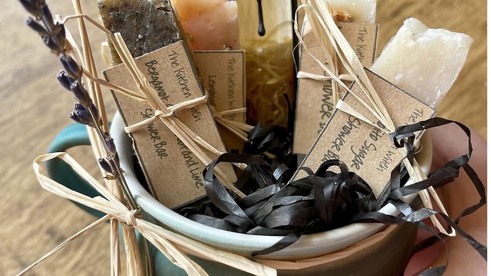 White Witch Cauldron Mug gift set