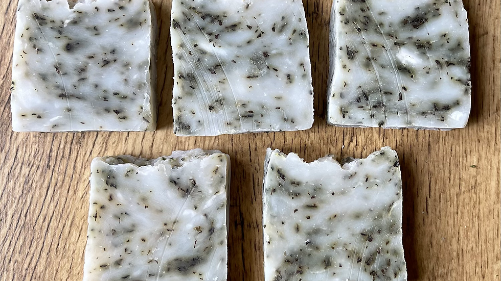 Peppermint, Clary Sage and Rosemary Shower Bar