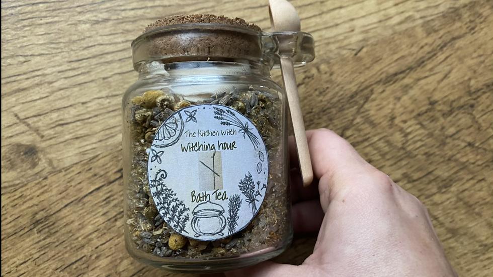 Witching Hour Bath Tea Jar