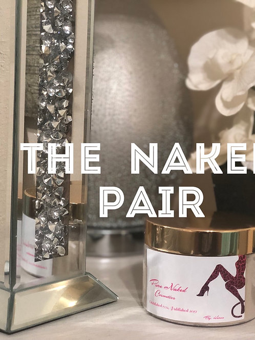 The Naked Pair, Face mask & moisturizer(includes face brush, spoon & swabs )