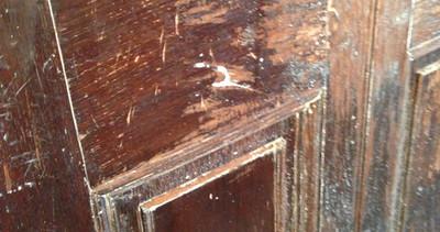 Four Large Mahogany Panelled Doors