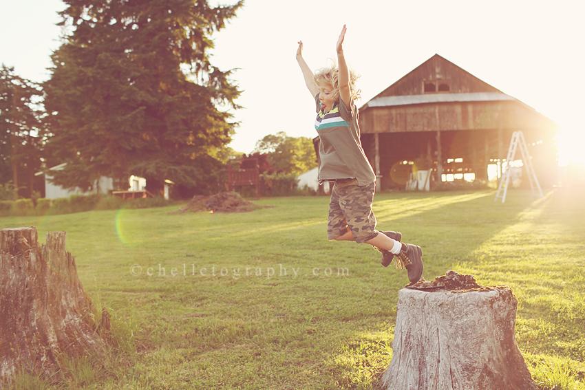 oregon childrens photography boy