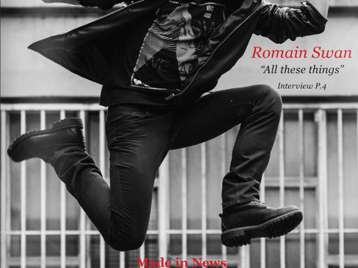 ROMAIN SWAN - EN COUVERTURE DE SYMBIOSE MAGAZINE + INTERVIEW