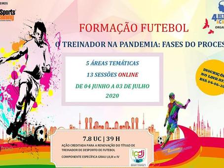 FORMAÇÃO TREINADORES DE FUTEBOL