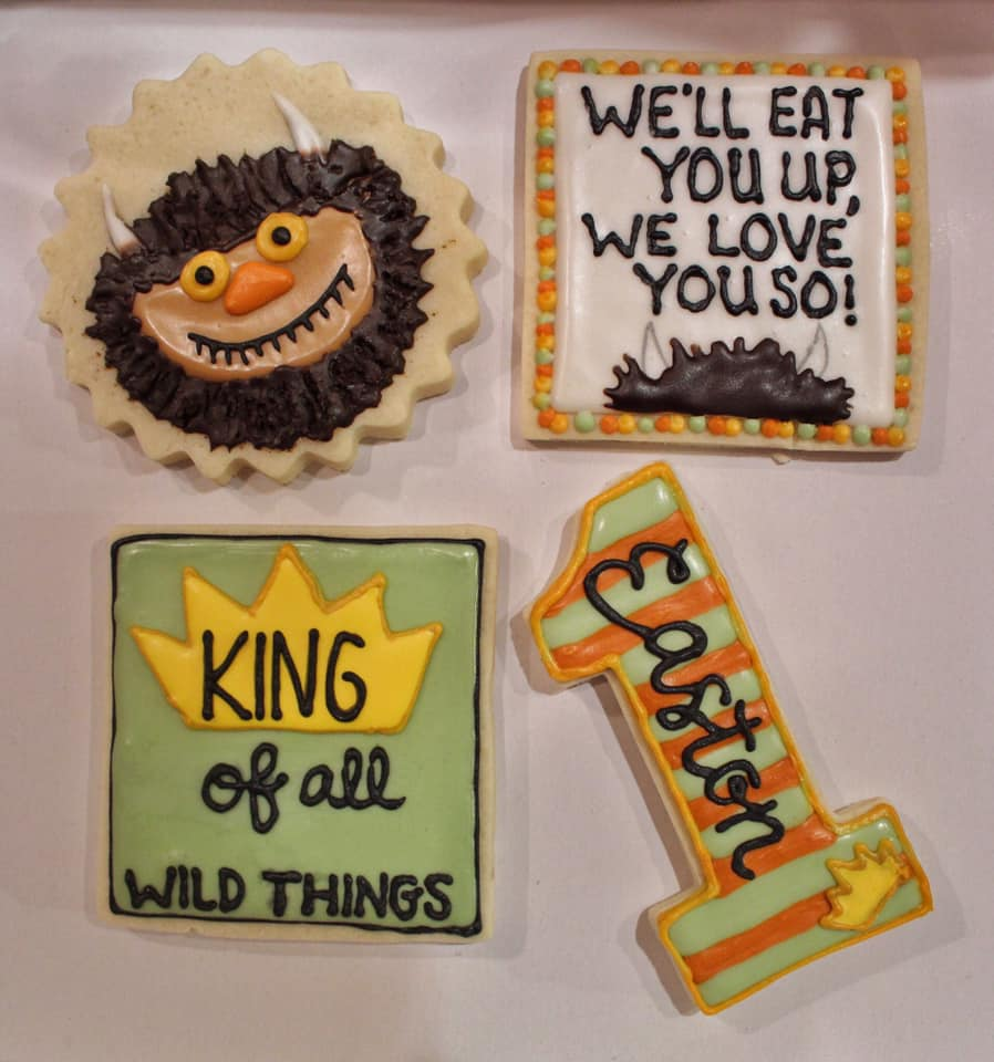 WTWTA 1st Birthday Cookies