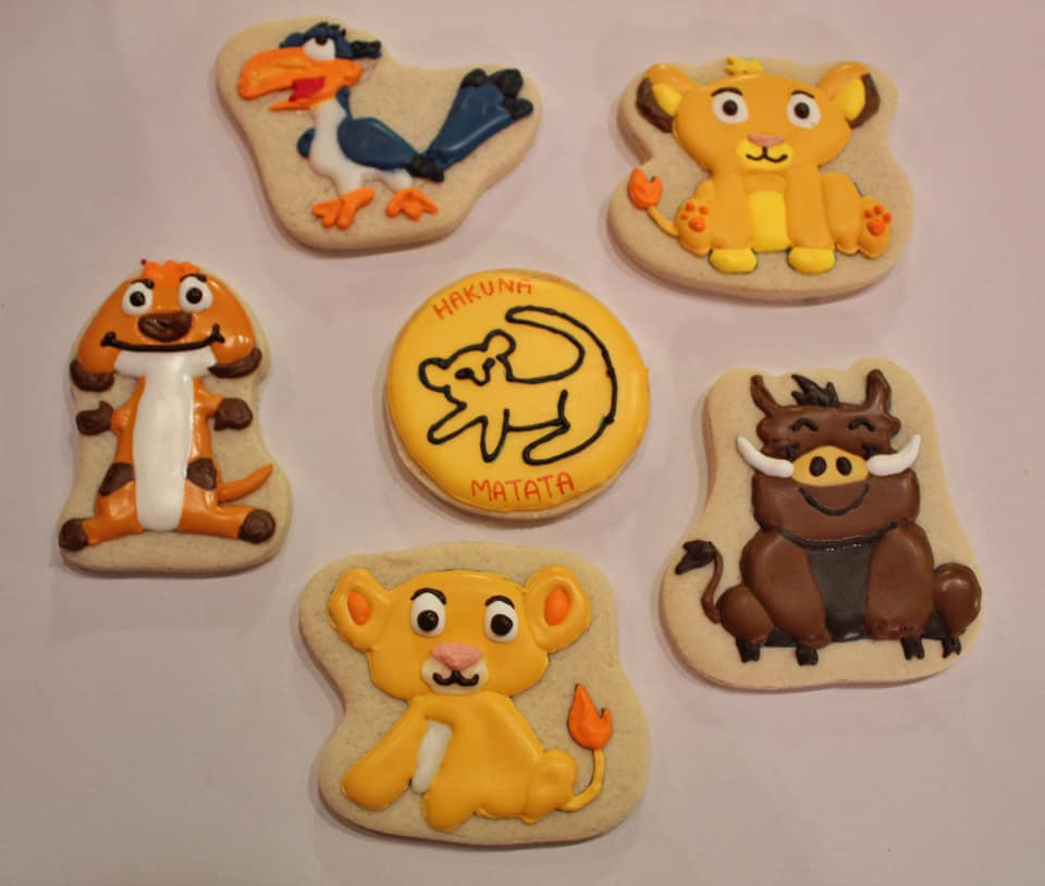 Lion King Sugar Cookies