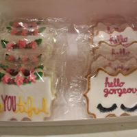 Eyelash Salon Cookies