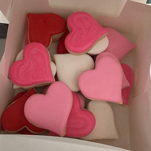 Mini hearts - simple