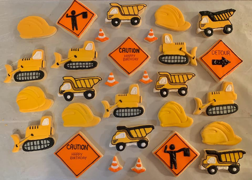 Construction Sugar Cookie