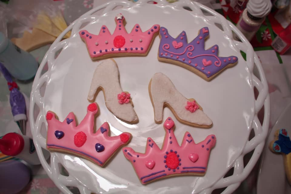 Princess Crowns + Shoes