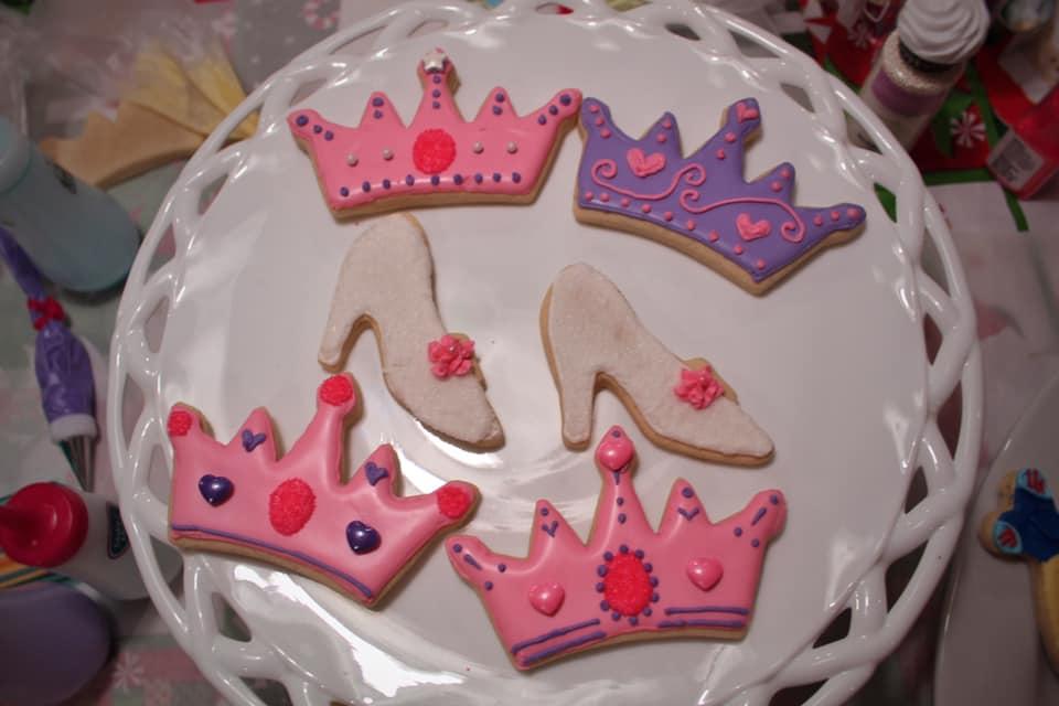 Princess Crowns + Shoes