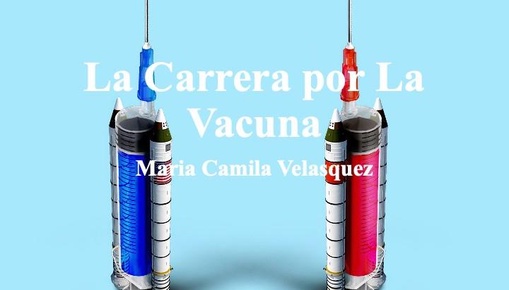 La Carrera por La Vacuna; Maria Camila Velasquez