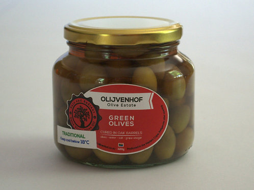 Green Natural Table Olives