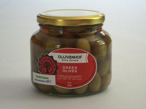 Green Table Olives Chilli & Garlic