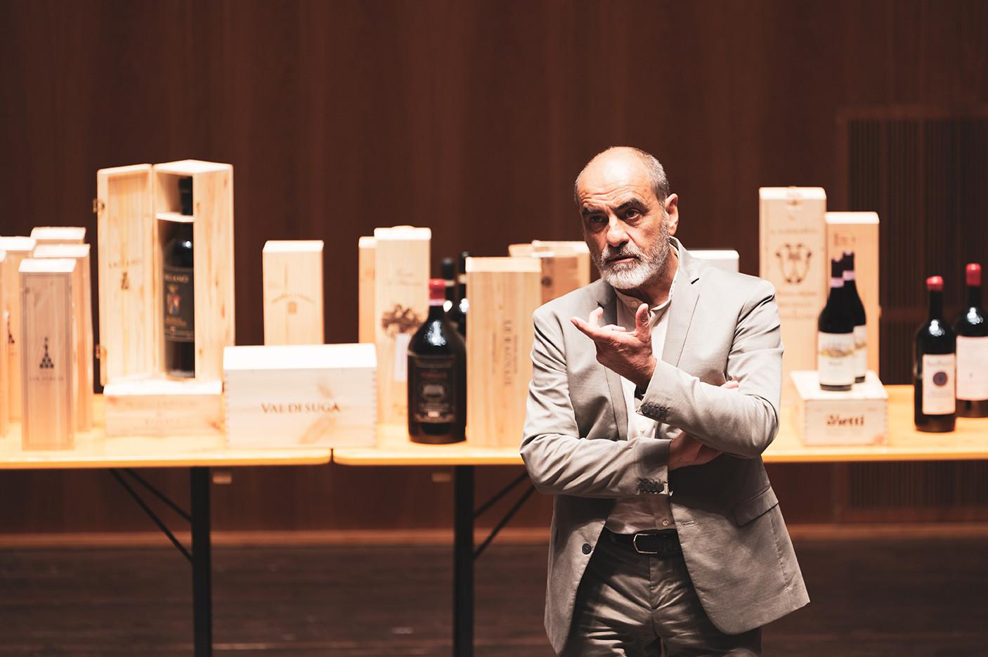 Architect Edoardo Milesi at Fondazione Bertarelli Music Hall  Photo © Elis Taflaj