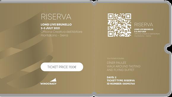 Ticket RISERVA