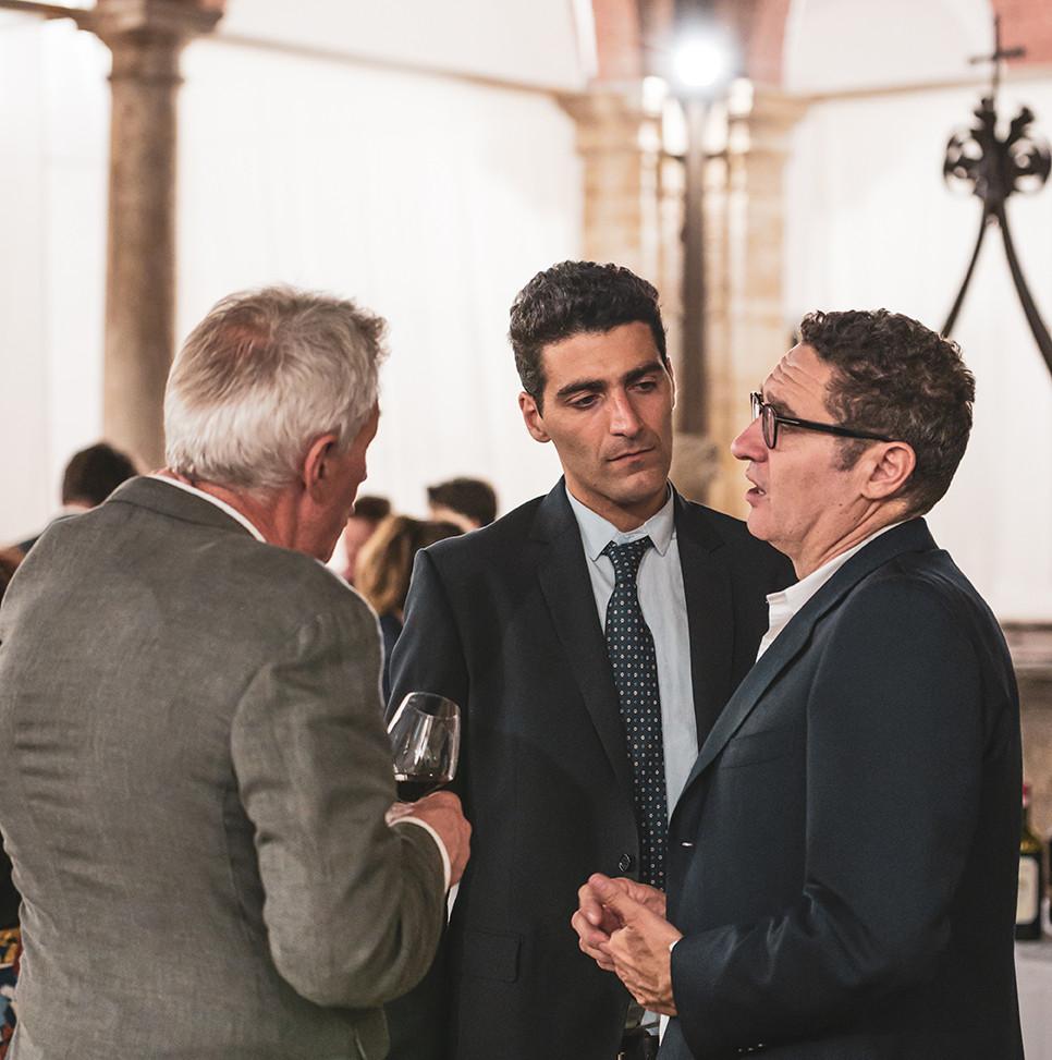Vincenzo Abbruzzese from Valdicava, Andrea Polidoro and Roberto Giannelli from San Filippo  Photo © Elis Taflaj