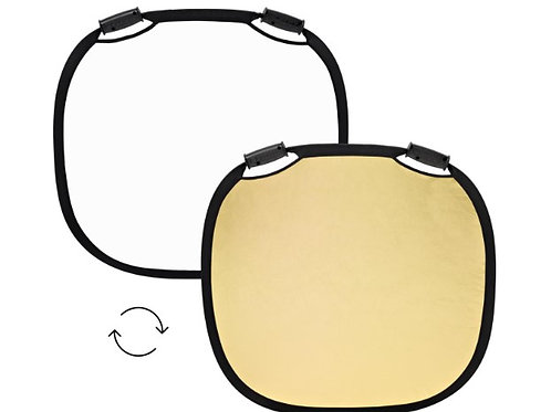 Collapsible Reflector GOLD/WHITE