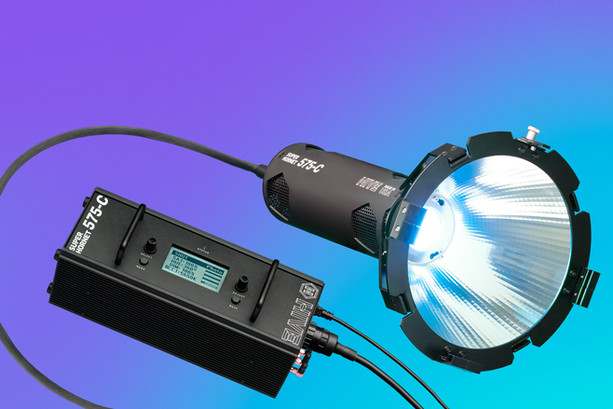 Hive 575C con battery pack e parabola