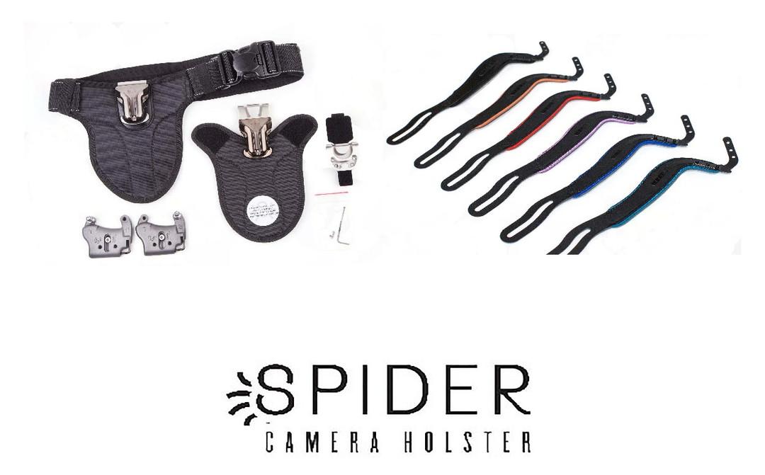 Cinture e agganci per macchine fotografiche Spider Holster