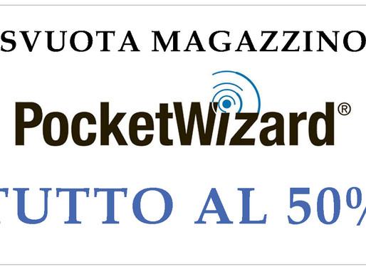Approfitta dello svuota magazzino PocketWizard