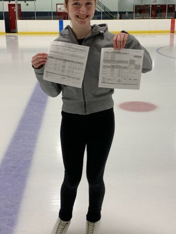 Keira star 3 freeskate solo and star 4 s