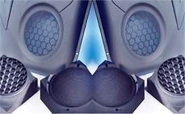 EDM Speaker Grille