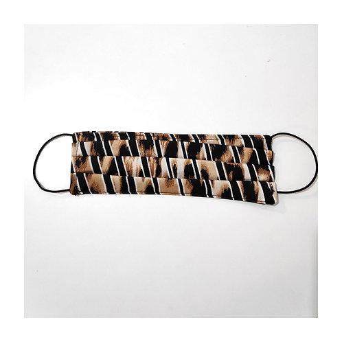 Face mask-leo stripes