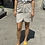 Thumbnail: Twisted skirt - cream