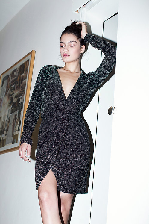 Lurex Twisted dress