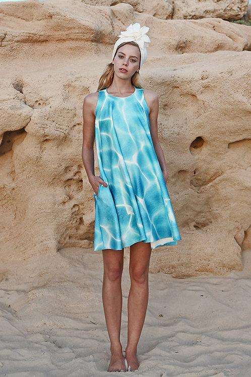 Water Print Dress