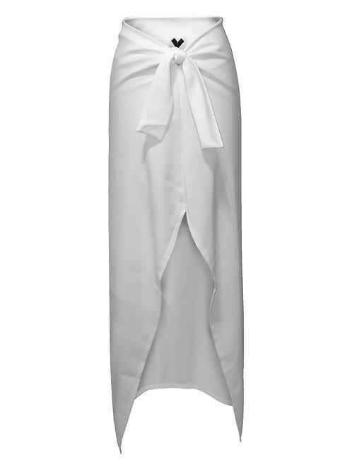 Rose Skirt-White