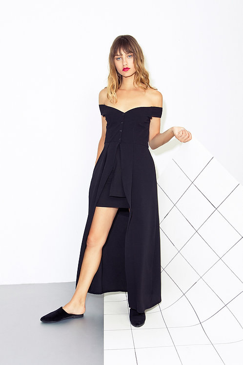 Off Shoulder Black
