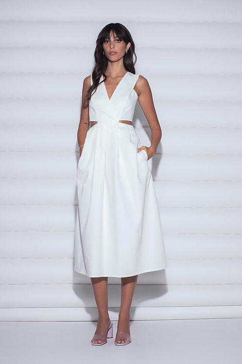Pleats v dress