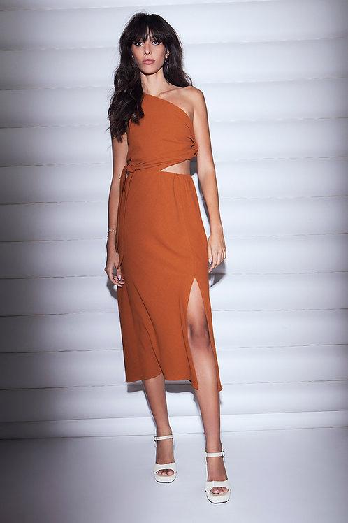 hamra one shoulder dress