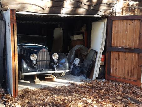 Barn Find τριών Bugatti και ενός Citroën στο Βέλγιο συνολικής αξίας άνω του $1εκ.