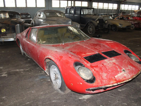 Barn – Find 81 οχημάτων στη Γαλλία ανάμεσά τους μία Miura!