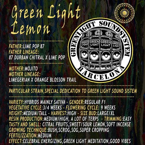 Green ligh lemon