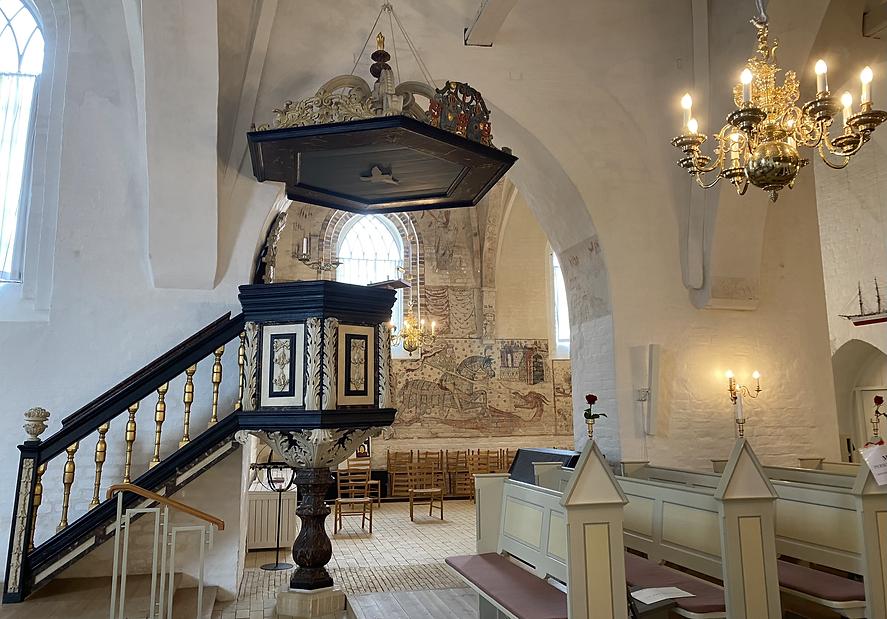 Bedemand Trenskow i Nibe Kirke