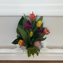 Gavlbuket blandede tulipaner.png
