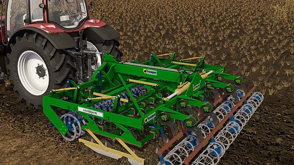 Le Farmer Mods FS17 Cultivateur Semoir