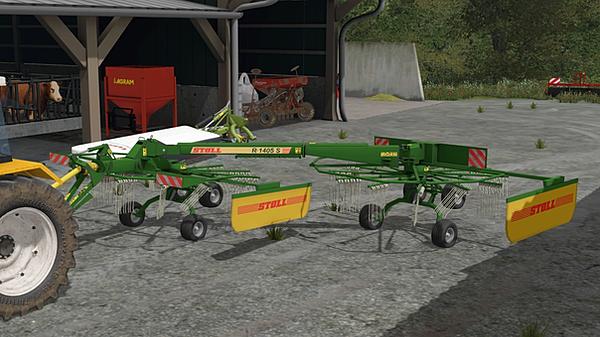 Le Farmer Mods Fs17 Outils De Fenaison Presse