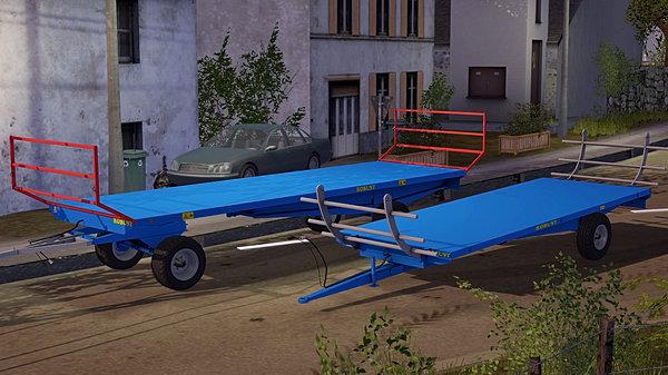 Le Farmer Mods FS17 Remorque Plateau
