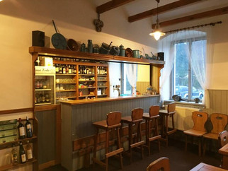 Penzion Černá Voda - restaurace