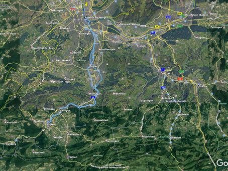 Durchs Laufental mit GPS